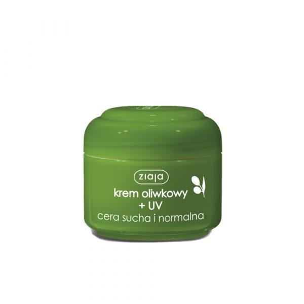Dnevna krema z UV zaščito oliva