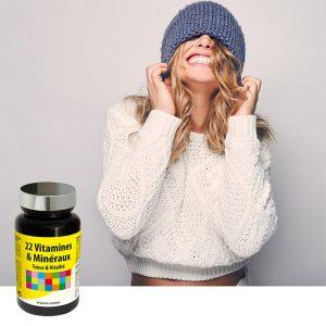 22 vitaminov in mineralov